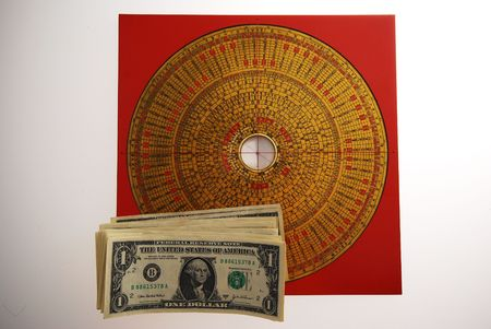 fengshui: Fengshui and Currency - USD  Stock Photo