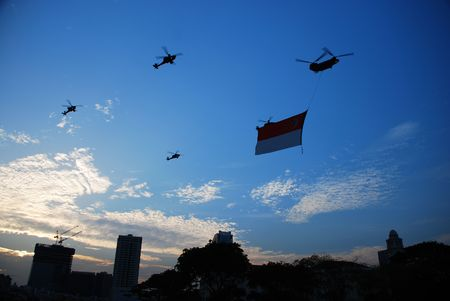 National Day Fly by 5