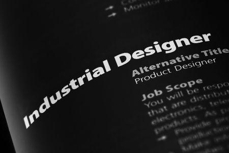 career fair: Occupation - Industrial Designer