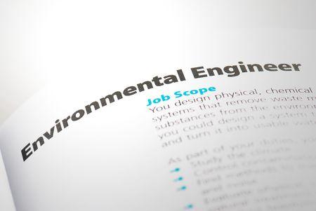 career fair: Occupation - Environmental Engineer 1