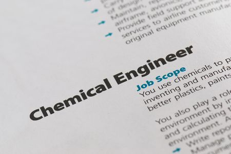 chemical engineering: Occupation - Chemical Engineering 4