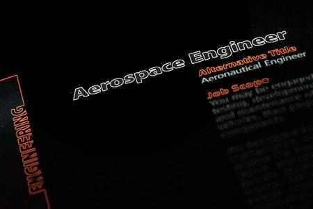 career fair: Occupation - Aerospace Engineer 2