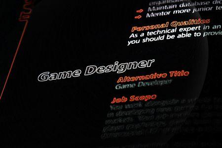 wii: Occupation - Game Designer  Stock Photo