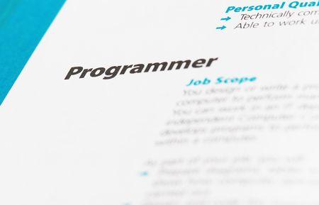 java script: Occupation - Programmer