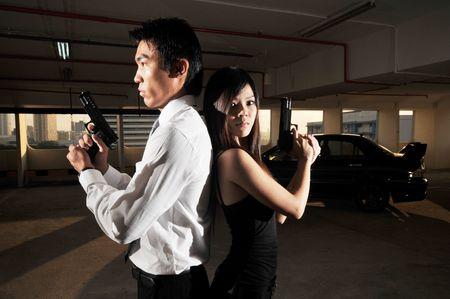 Agent/ Killer 28 Stock Photo - 3383511