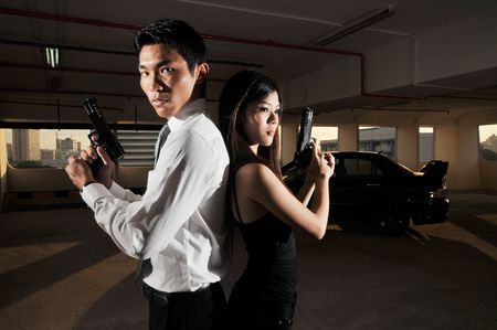 Agent/ Killer 25 Stock Photo - 3383509