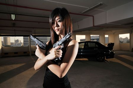Agent/ Killer 24 Stock Photo - 3383527