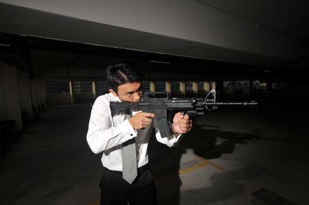 Agent/ Killer 8 Stock Photo - 3383514