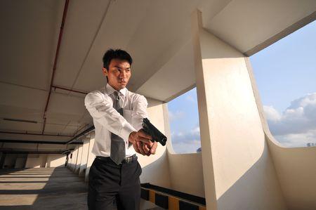 Agent/ Killer 57 Stock Photo - 3412409