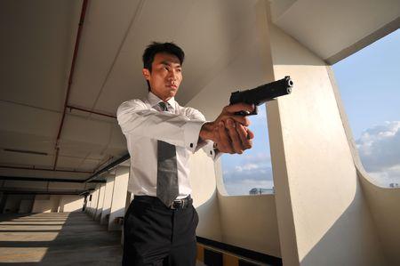 Agent/ Killer 56 Stock Photo - 3412410