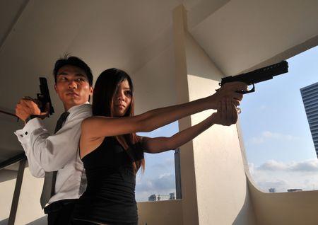 Agent/ Killer 51 Stock Photo - 3412407