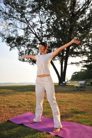 Yoga 63 Stock Photo