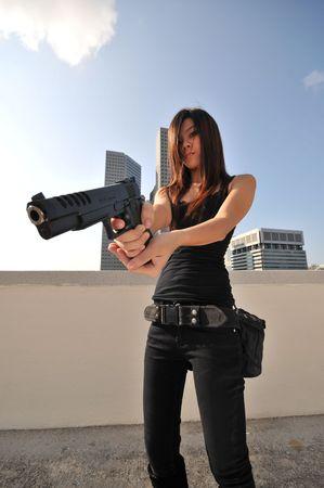 femme policier: Agent  Killer 22