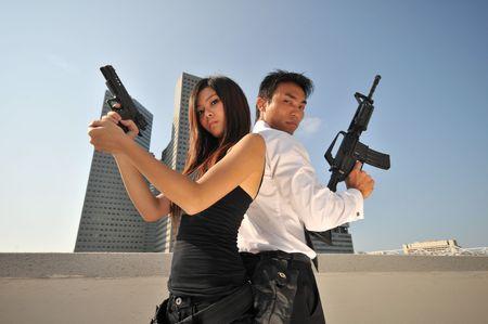Agent/Killer 15 Stock Photo