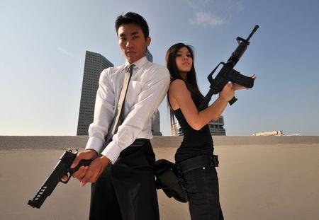 femme policier: Agent  Killer 11