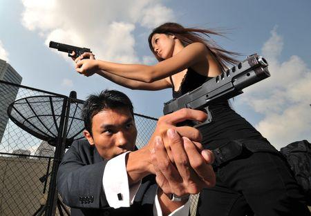 Agent/Killer 1 Stock Photo