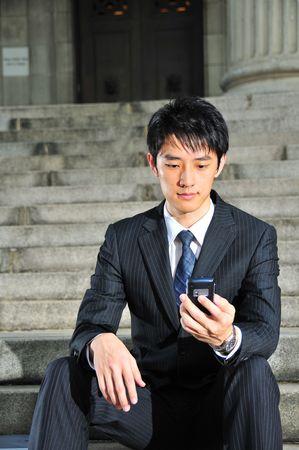 Business Man on Phone 4 photo