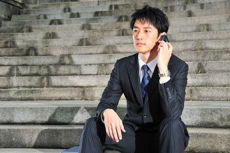 Business Man on Phone 2 photo