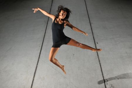 baile moderno: Danza Moderna 50 Foto de archivo