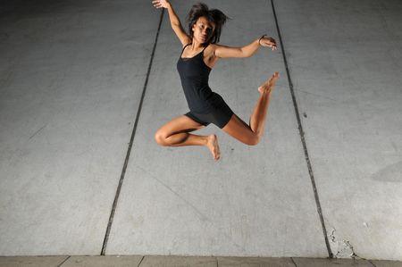 baile moderno: Danza Moderna 33 Foto de archivo