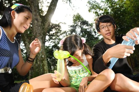 Children At The Park photo