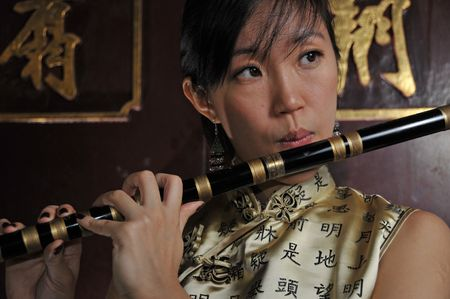 Female Portraits in Oriental Theme photo