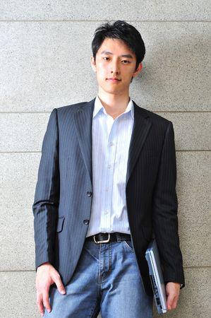 Asian Man Executive
