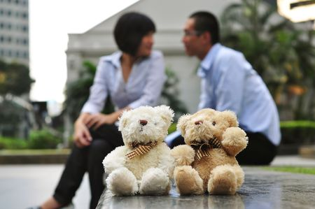 Couple In Love With Couple Bear