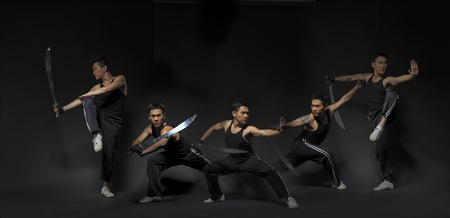 demonstrate: Kungfu Fighters in multiplicity 2