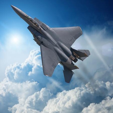 gevechtsvliegtuig Stockfoto