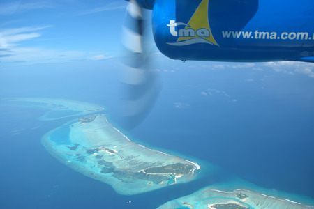 mode transport: Seaplanes are a common mode of transport to reach world
