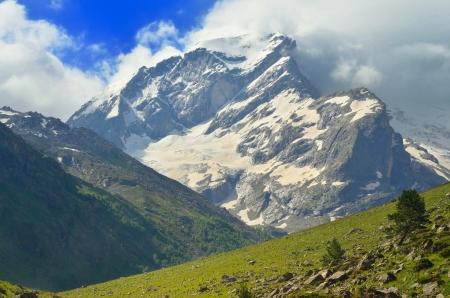 This is mountains summit in Cucasus Uzunkol
