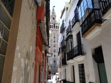 La Giralda, Sevilla, Spain Imagens