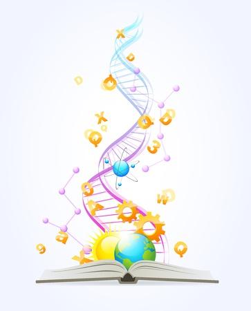 추상적 인 지식의 그림 스톡 콘텐츠 - 14091382