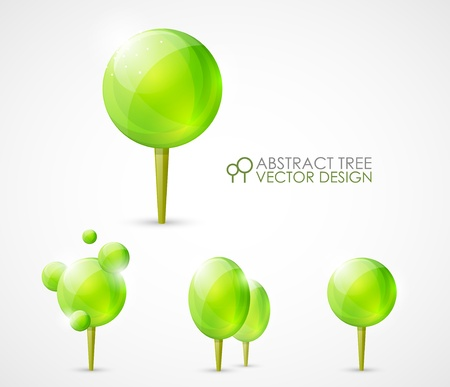 Abstract tree concept design