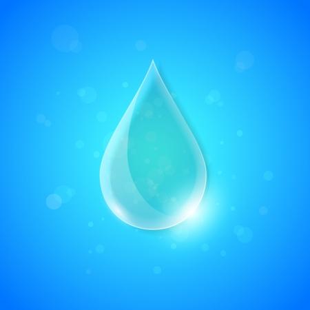 cuatro elementos: Agua concepto de fondo