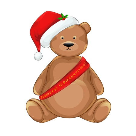 Christmas bear Illustration