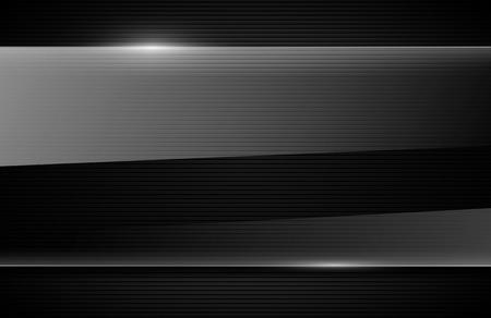 negro: vector de fondo brillante