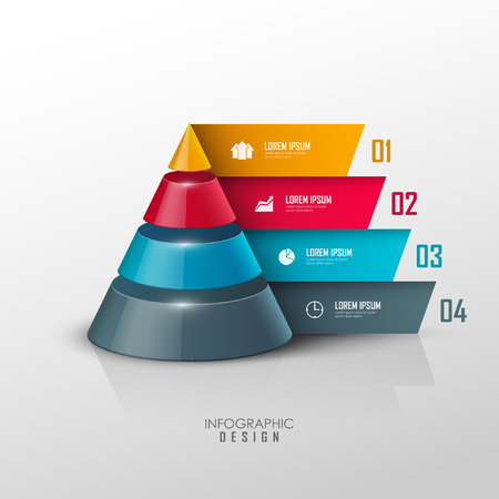 Vector infographic or web design template Stock fotó - 36905648
