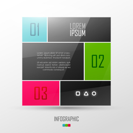 line design: Website template design