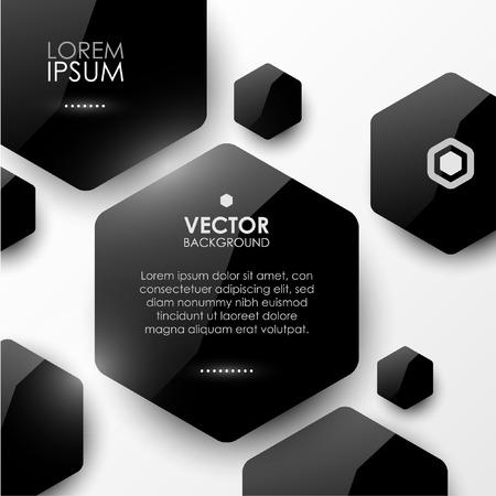 Vector geometrisch glanzend achtergrond Stock Illustratie