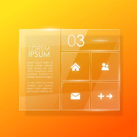 Website template design