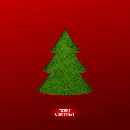 Bright Vector Christmas Greeting Card Vector