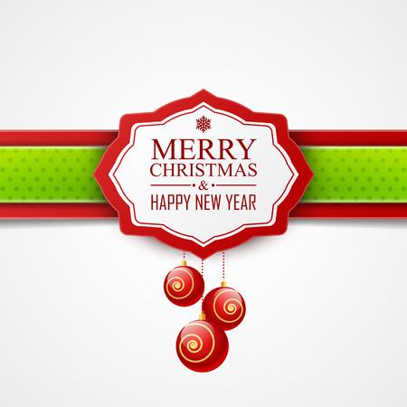 feriado: Tarjeta de Navidad
