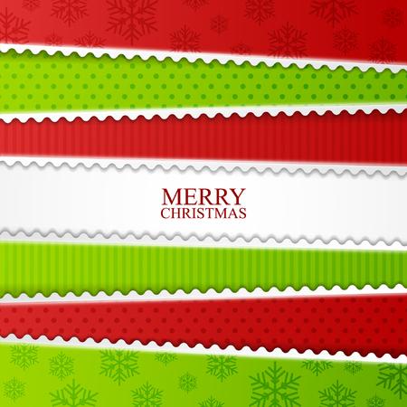 cintas navide�as: Tarjeta de Navidad