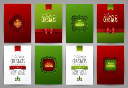christmas backgrounds: Christmas backgrounds set