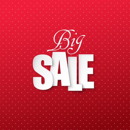 winter sale: Vector sale background