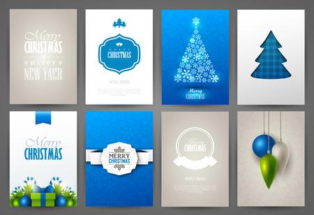 Christmas backgrounds set Stock fotó - 48959678