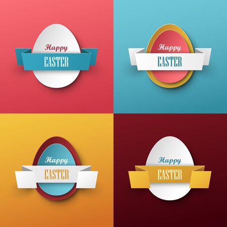 easter background: Bright vector easter background Illustration