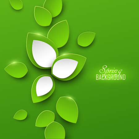 bright: Bright spring abstract background